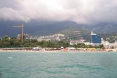 Jalta vom Meer gesehen