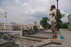 Fotoshooting am Cherschaschtschik