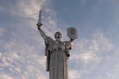 """die """"eiserne Lady"""" Denkmal für den Großen Vaterländischen Krieg"""