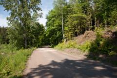 Straße nach Goldap bei Kulsze