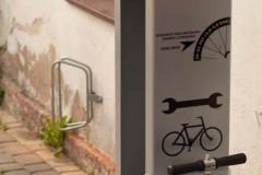 Fahrradstation in Czerwony Folwark