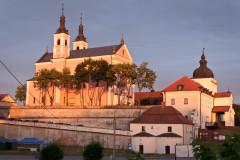 Kloster Wigry in der Abendsonne