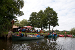 gut besuchter Fischer in Ahrensberg